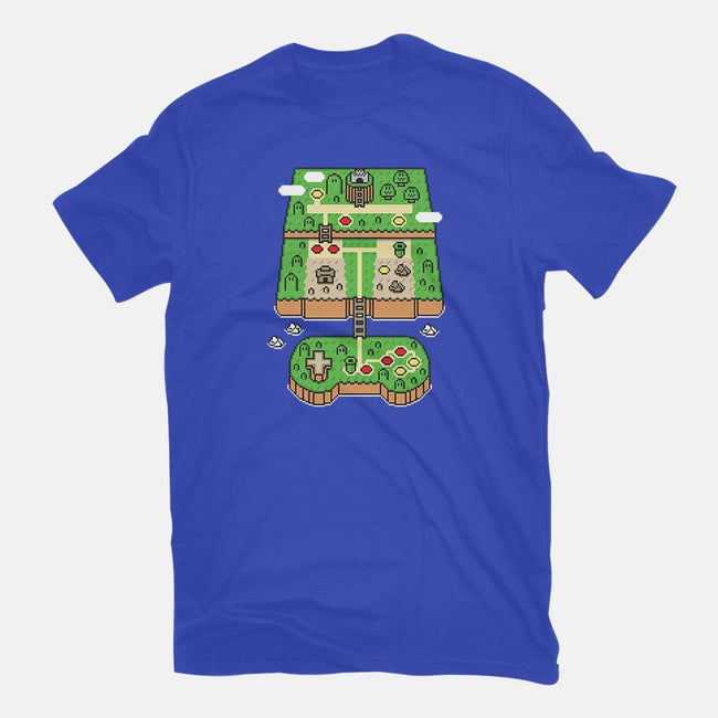 Super Console World-mens basic tee-jrberger