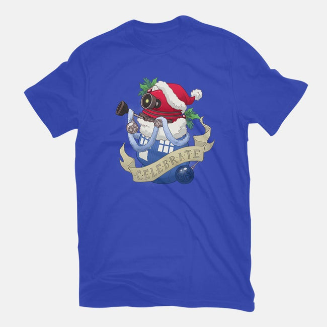 Celebrate! Stocking Stuffer-mens basic tee-DoOomcat