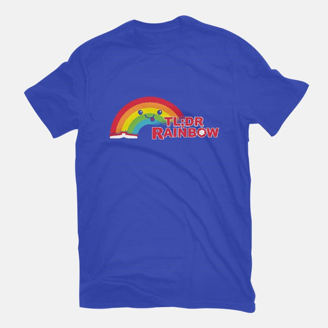 Didn't Read It Rainbow-mens basic tee-MJ