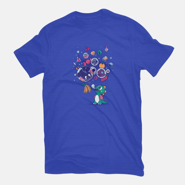 Many Bubbles-mens basic tee-ursulalopez
