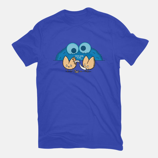 Unfortunate Cookie-womens fitted tee-Raffiti