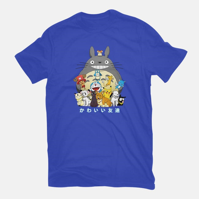 Kawaii Friends-mens premium tee-batang 9tees