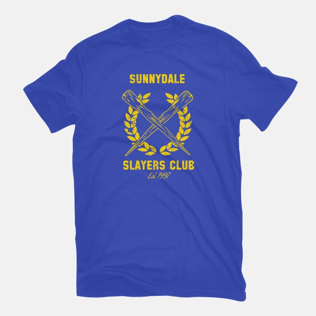 Sunnydale Slayers Club-mens basic tee-stuffofkings