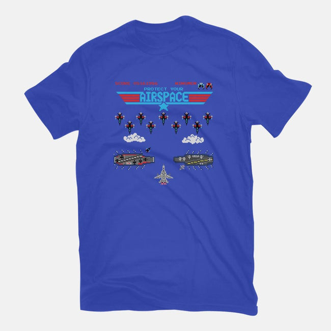Airspace Invaders-youth basic tee-Pixel Pop Tees