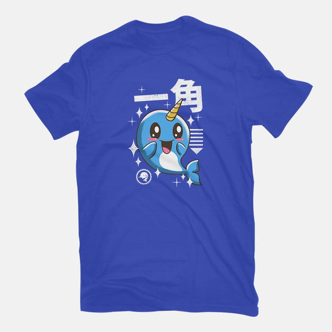 Kawaii Narwhal-womens fitted tee-vp021