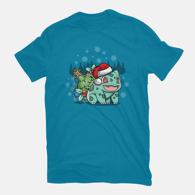 Jingle Bulbs-mens basic tee-Beware_1984