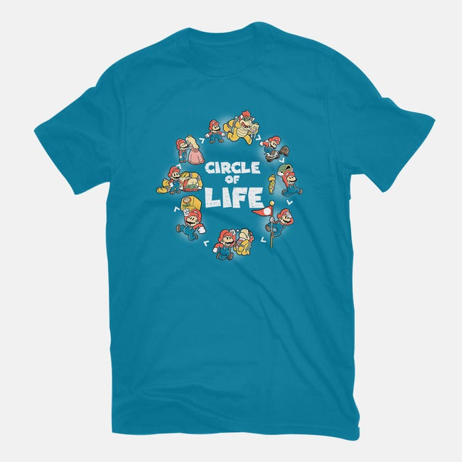 Circle of Life-womens fitted tee-trheewood