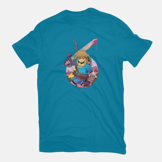 Link of the Wild-mens basic tee-LukeHorsman