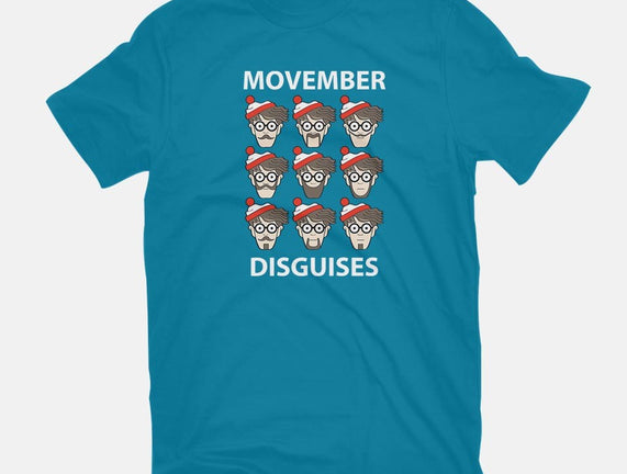 Movember Disguises