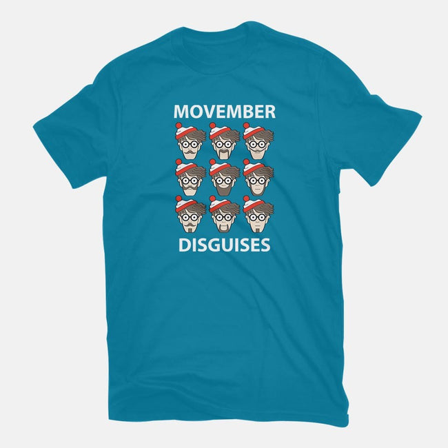 Movember Disguises-mens basic tee-jrberger