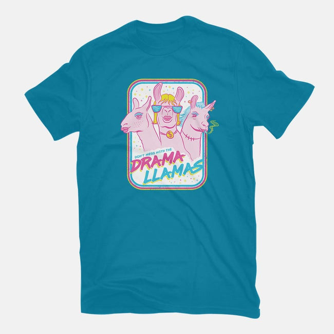 Drama Llamas-mens basic tee-hbdesign
