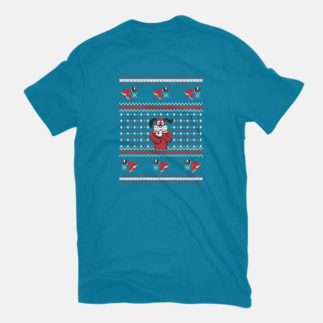 Duck For Christmas-mens basic tee-Retro Review