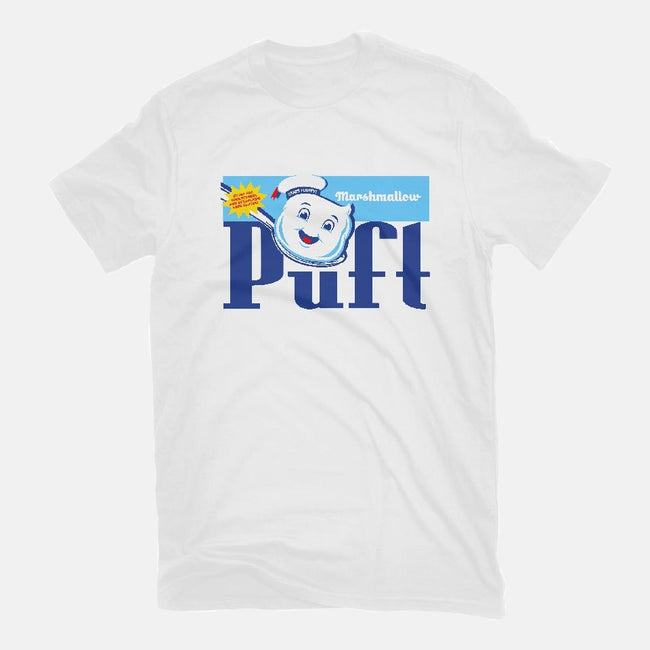 Marshmallow Puft-womens fitted tee-RyanAstle