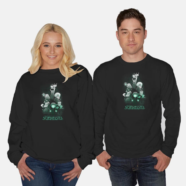 Ahead of Their Time-unisex crew neck sweatshirt-queenmob