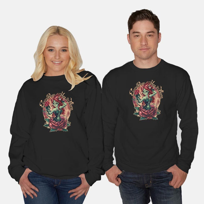 Every Rose Has Its Thorn-unisex crew neck sweatshirt-TimShumate