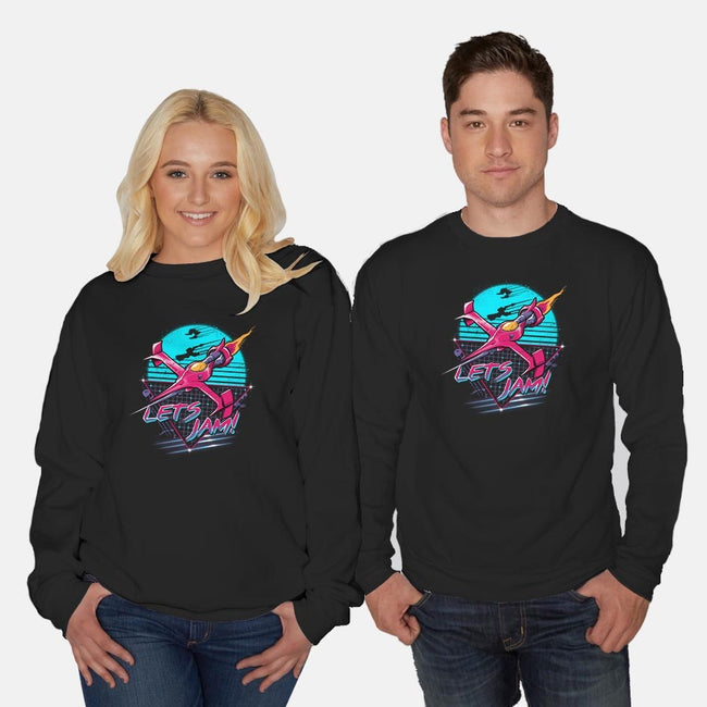 Rad Space Cowboy-unisex crew neck sweatshirt-vp021
