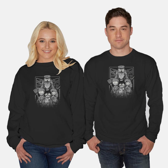 Magical Friends-unisex crew neck sweatshirt-yumie