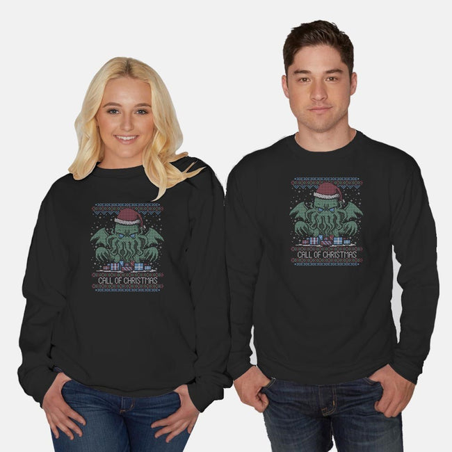 Call of Christmas-unisex crew neck sweatshirt-xMorfina