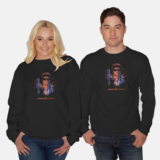 The Perminator-unisex crew neck sweatshirt-gloopz