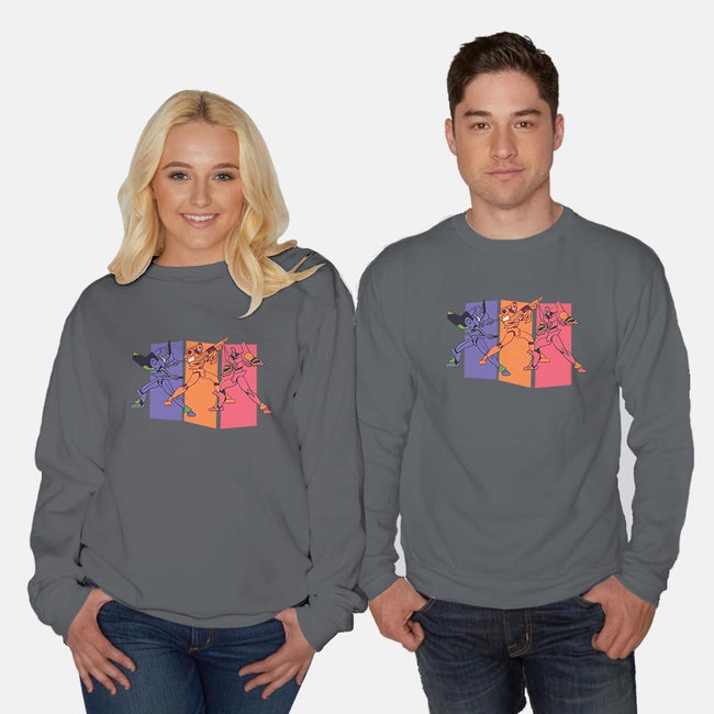 Angels of Destruction-unisex crew neck sweatshirt-Jaime Ugarte