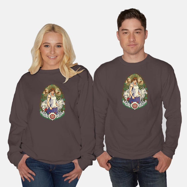 Guardian of the Forest-unisex crew neck sweatshirt-TrulyEpic