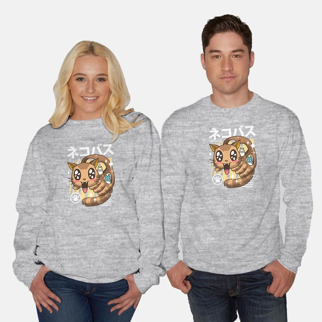 Kawaii Nekobasu-unisex crew neck sweatshirt-vp021