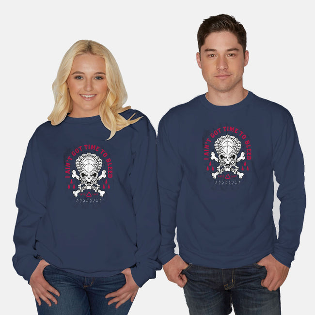 Time To Bleed-unisex crew neck sweatshirt-Nemons