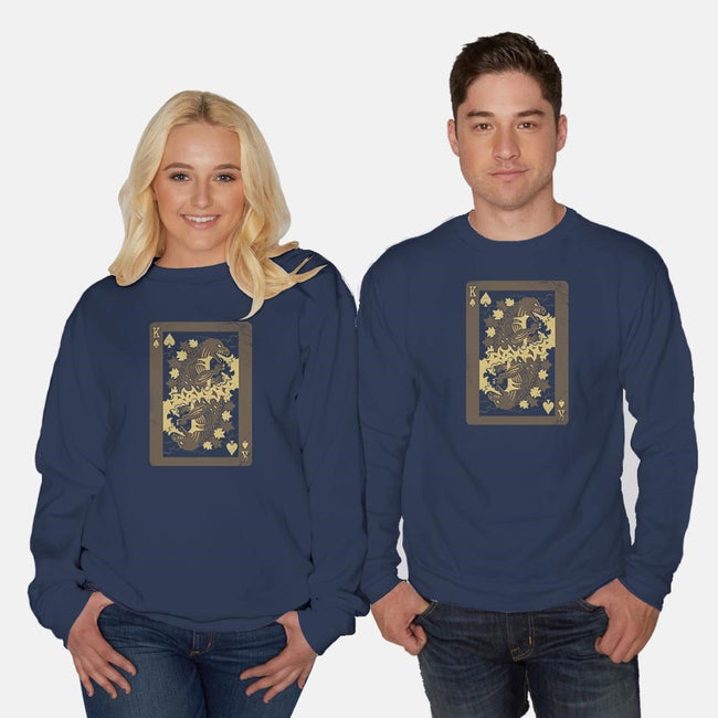 King of Monsters-unisex crew neck sweatshirt-DinoMike