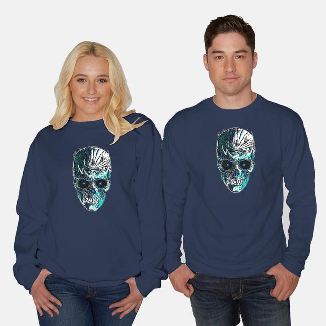 King is Dead-unisex crew neck sweatshirt-RicoMambo