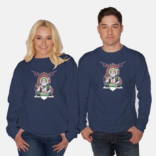 The Jasmine Dragon-unisex crew neck sweatshirt-KindaCreative