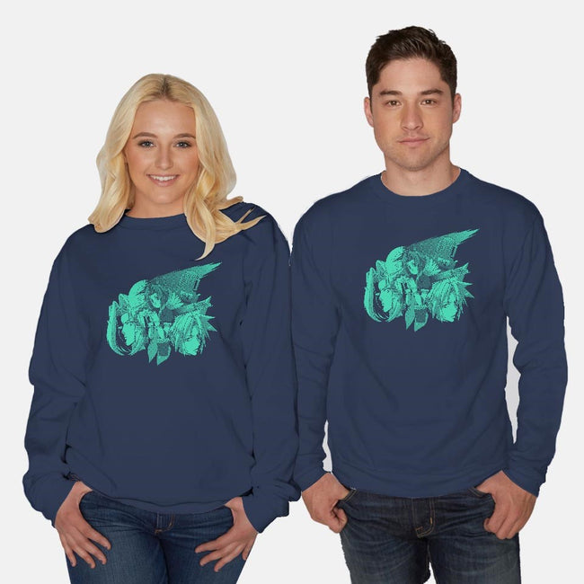 Only One Gil 2-unisex crew neck sweatshirt-Coinbox Tees