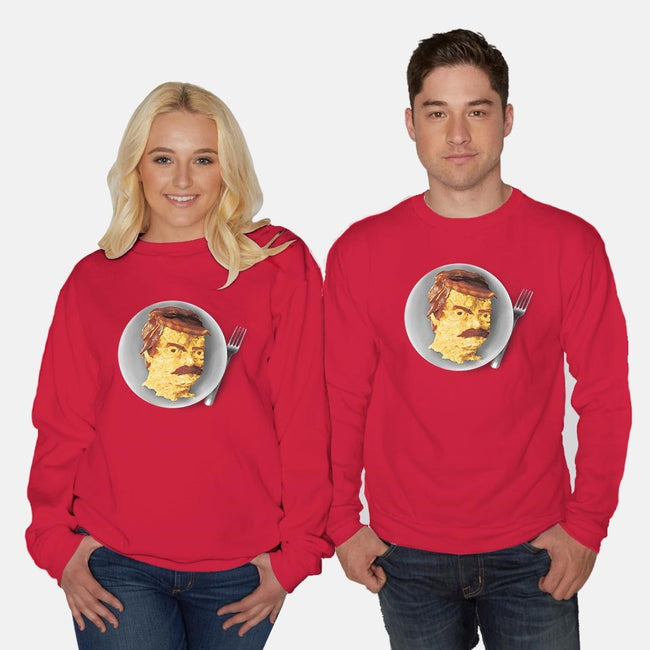 All the Bacon and Eggs-unisex crew neck sweatshirt-Pyne