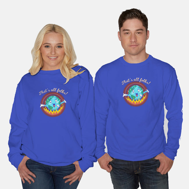 Show's Over-unisex crew neck sweatshirt-vp021