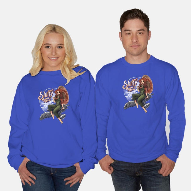 Kaylee's Spacecraft Repair-unisex crew neck sweatshirt-Bamboota