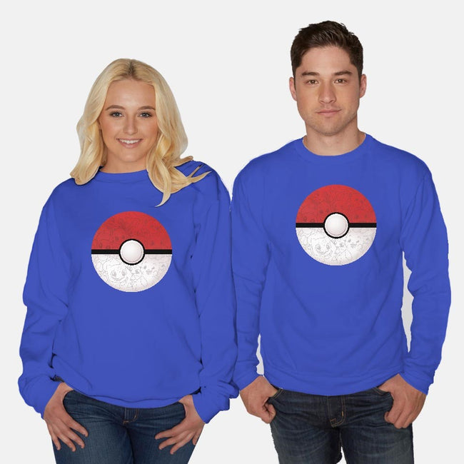 Having a Ball-unisex crew neck sweatshirt-DoOomcat
