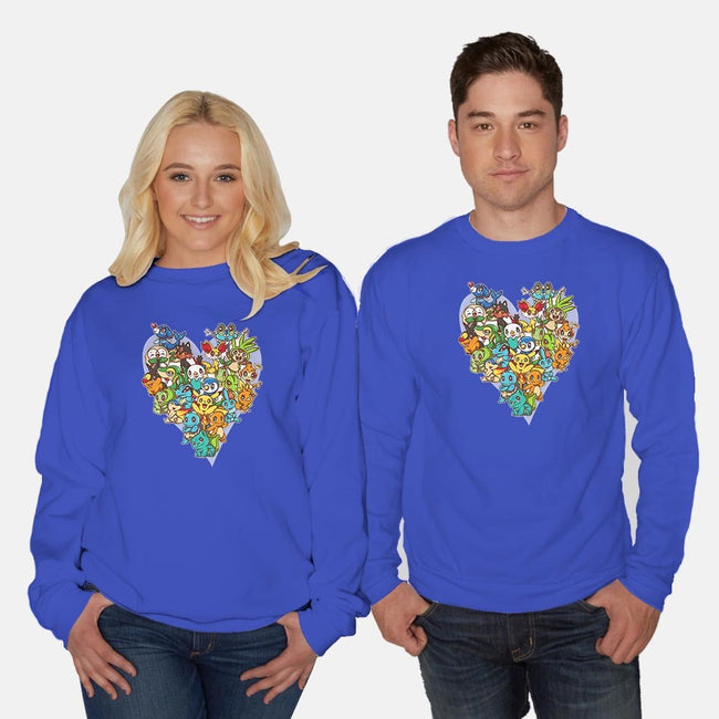 The Journey Begins With One-unisex crew neck sweatshirt-GillesBone