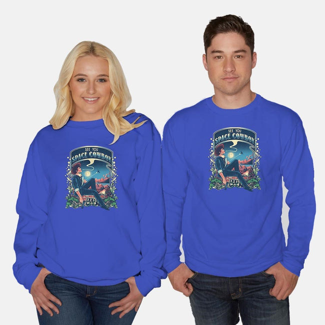 I'm Watching a Dream-unisex crew neck sweatshirt-Creative Outpouring