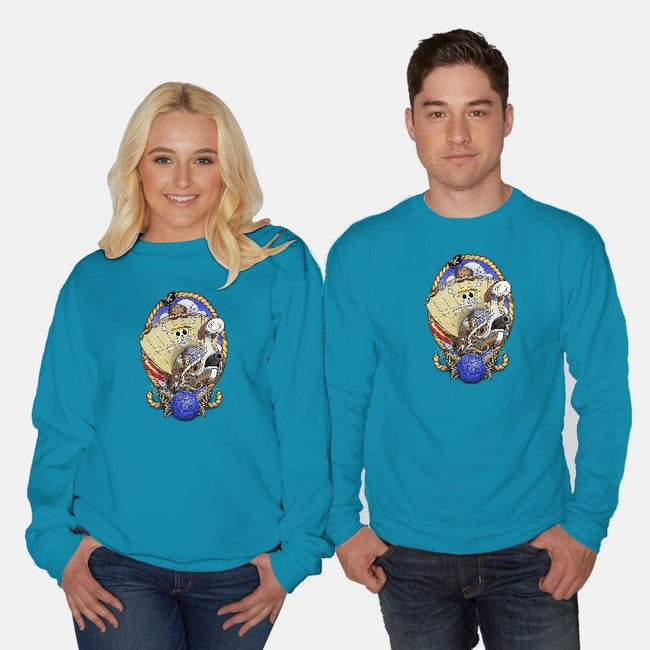 Old School's Going Merry-unisex crew neck sweatshirt-aLittleFED
