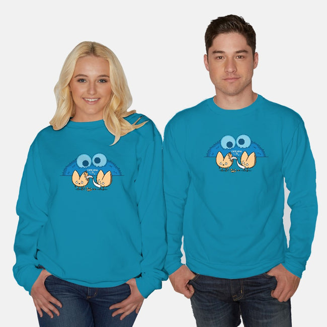 Unfortunate Cookie-unisex crew neck sweatshirt-Raffiti