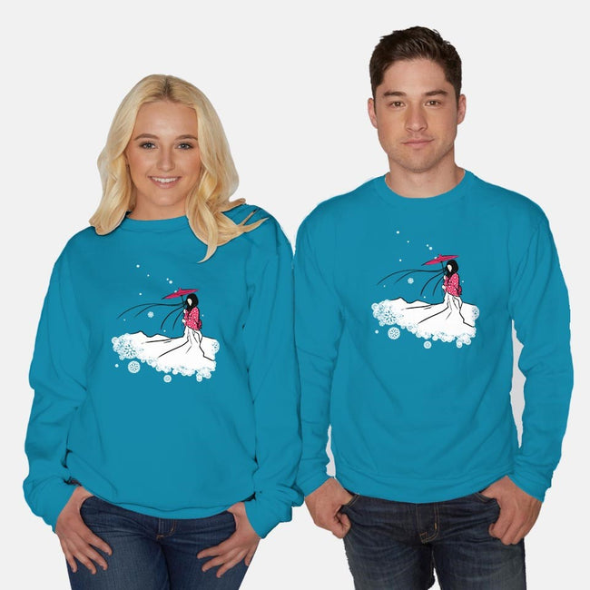 Waiting For His Return-unisex crew neck sweatshirt-Aegis