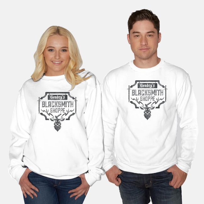 Ours Is The Blacksmith-unisex crew neck sweatshirt-Beware1984