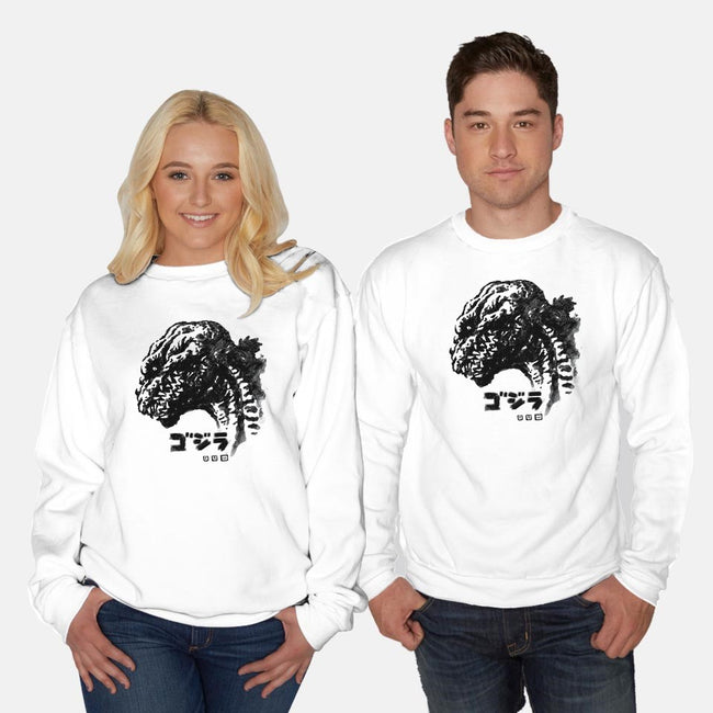 Waterbrushed King Reborn-unisex crew neck sweatshirt-cs3ink
