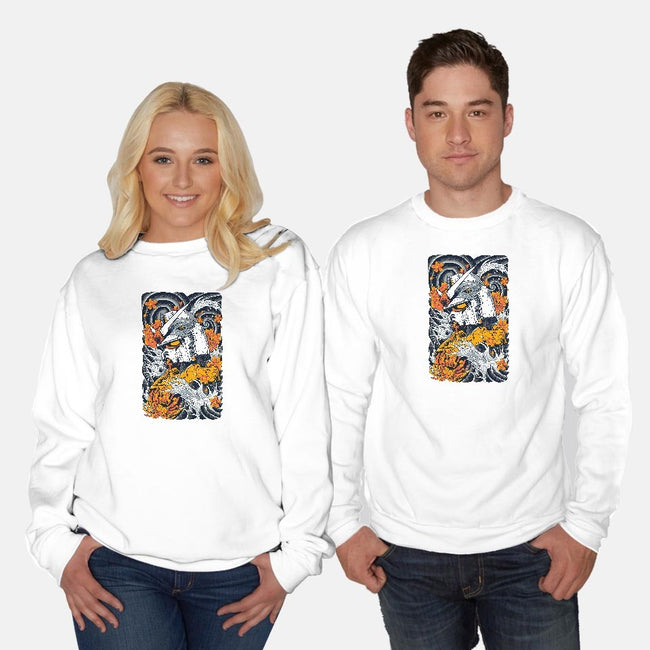 Mecha Ink-unisex crew neck sweatshirt-Snapnfit