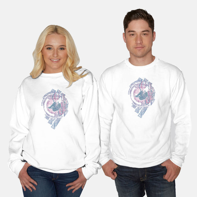 Wired Existence-unisex crew neck sweatshirt-pigboom