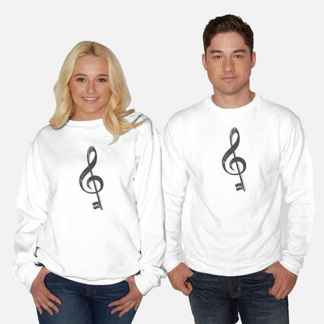 The G Key-unisex crew neck sweatshirt-JCMaziu