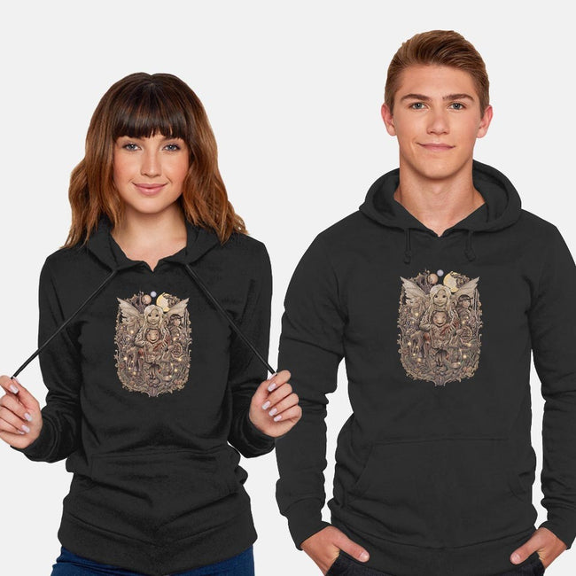 Return to Thra-unisex pullover sweatshirt-saqman