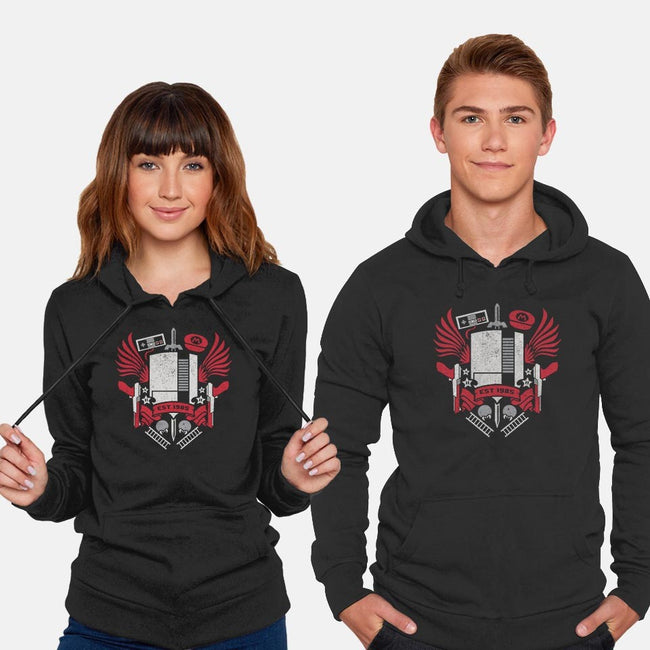 Power Crest-unisex pullover sweatshirt-jrberger