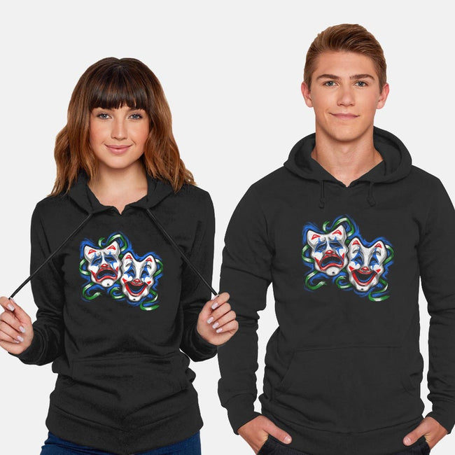 Life is A comedy/ Tragedy-unisex pullover sweatshirt-punksthetic