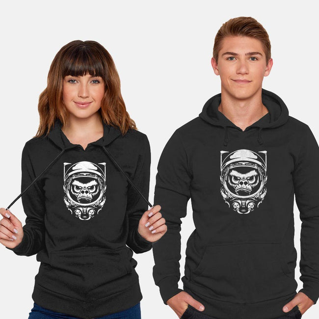 Cosmic Monkey-unisex pullover sweatshirt-Immortalized