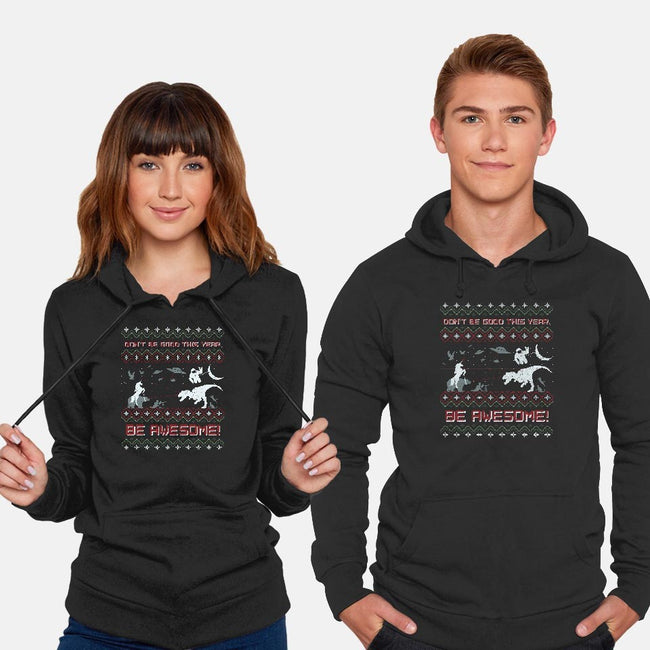 HAVE AN EPIC LITTLE XMAS!!-unisex pullover sweatshirt-beanepods
